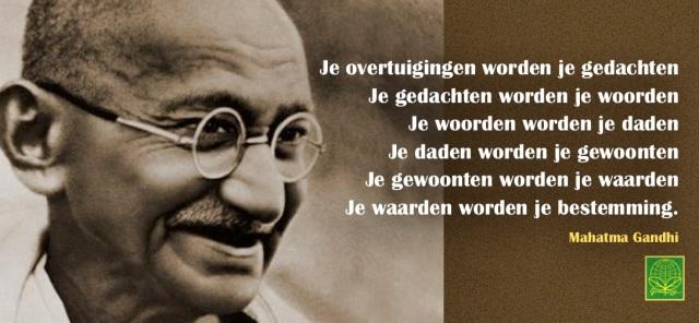 Gandhi overtuiging